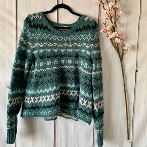 FREE PEOPLE / CHUNKY KNIT SWEATER SZ MEDIUM